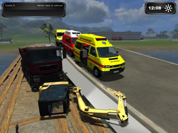 Accident dans la map de travaux