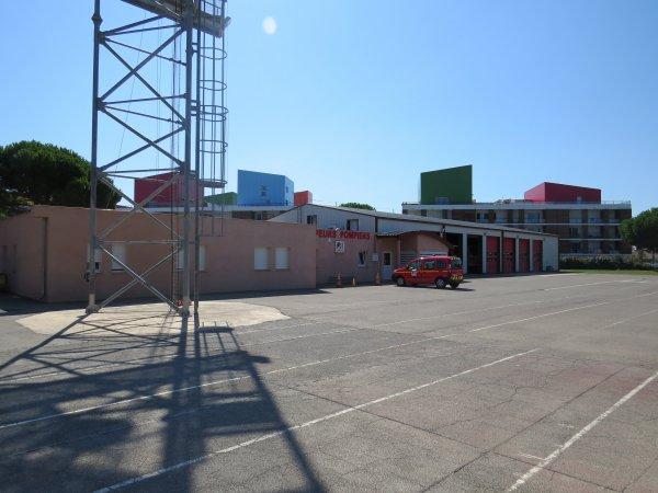SDIS 11 : Caserne de Gruisssan