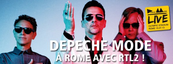 RTL2 et Depeche Mode