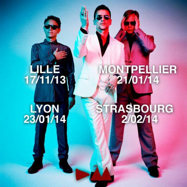 Depeche Mode en France, bis