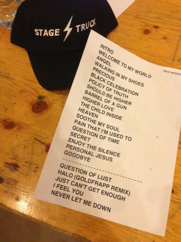 Depeche Mode à Nice: j'y étais