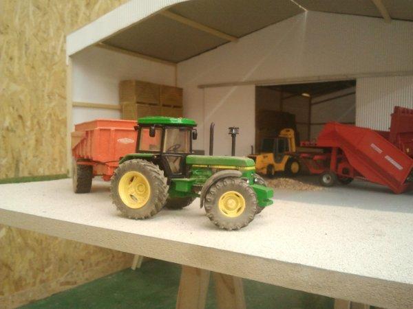 mon diorama a l'expo de fecamp !!!