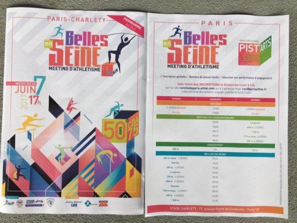 Tous le 7 juin 2017 au stade Paris-Charlety pour ce meeting d'athlétisme inédit