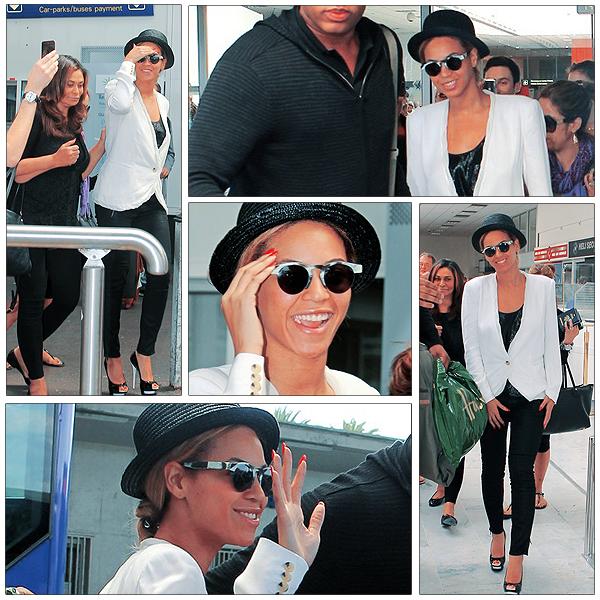 12/06/2011 - Beyonce avec sa maman Tina à NICE en FRANCE !!!!