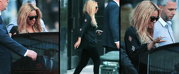12/05/2011 - Beyonce de sortie dans New-York