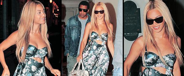 19/04/2011 - Selon des sources, Beyoncé et son mari sont à Paris depuis aujourd'hui. Ils ont été vus en train de sortir de l'hôtel Meurice. Aucune information sur la raison de leur venue en France ....