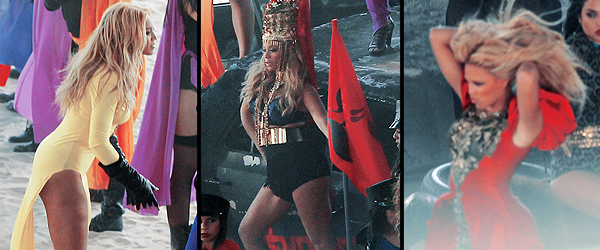 Beyonce : Girl, un extrait de son nouvel :Beyoncé va bientôt proposer son nouveau single, intitulé Girl (Who Rule The World). En plein tournage du clip, un extrait de la musique a fuité sur le net, sur Youtube plus précisément. Ecoutez un extrait de Girl (Who Rule The World), Beyoncé va faire son grand retour dans les bacs avec un nouveau single. Plusieurs noms circulent mais la plupart annoncent Girl (Who Rule The World). Jour après jour, des informations circulent sur internet. Alors qu'on sait qu'elle sera en mode gladiateur dans le clip, voilà qu'un extrait du single est désormais disponible. A l'écoute, on découvre que Beyoncé va encore nous éblouir avec un tube. On est impatient de pouvoir découvrir le résultat final ! En attendant, voici un petit extrait ...
