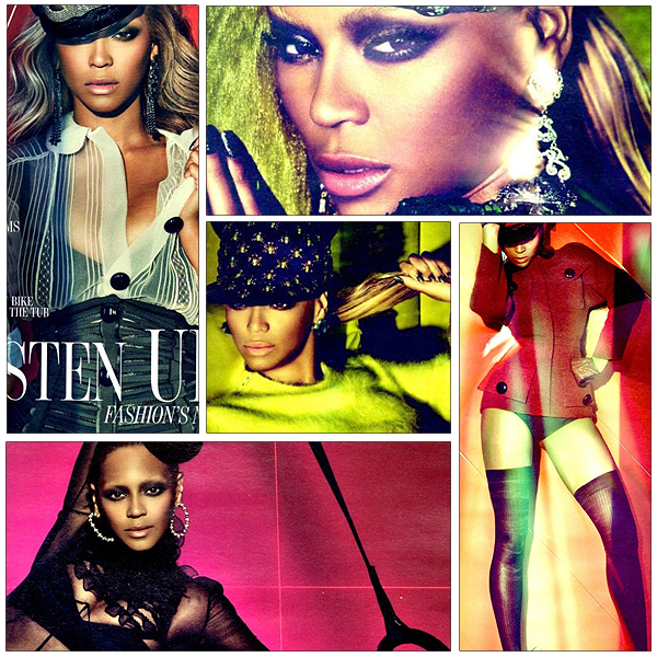 13/06/2011 - Beyonce pose pour le magazine W !!!