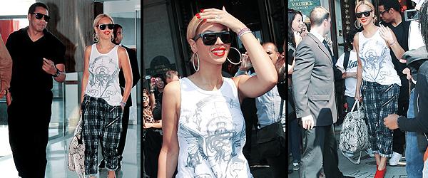 26/04/2011 - Beyonce et jay-z ont quittés la france et sont de retour à new- york, voici quelques photos de le retour à l' aréoport ...