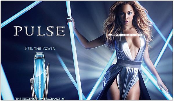 15/06/2011 - Beyonce sort un nouveau parfum nommé PULSE !!!