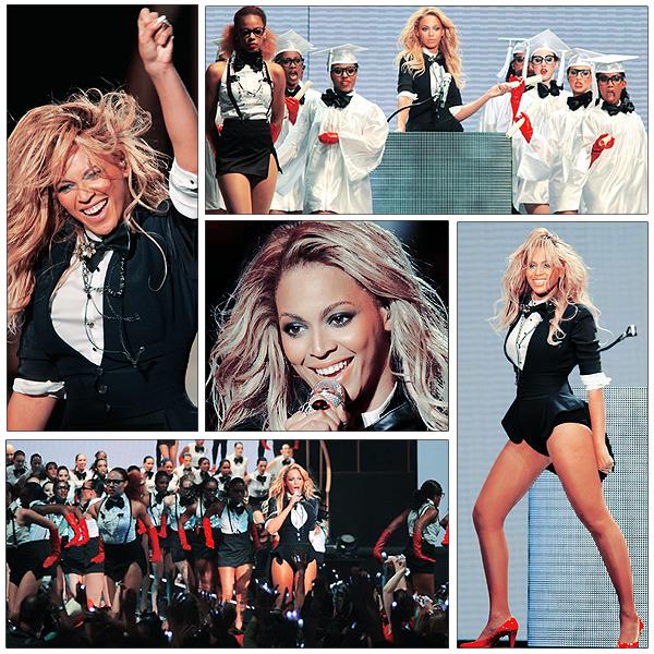 17/05/2011 - Beyonce a enregistré une performance de Run The World qui sera diffusé lors d'un spécial Oprah Winfrey le 23-24 Mai 2011.  La chanteuse de 29 ans présentera pour la première fois sa chorégraphie sur la chanson
