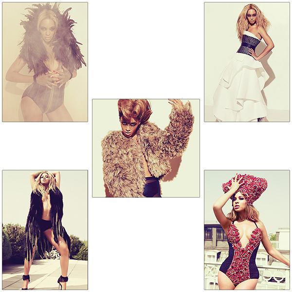 18/06/2011 - Beyonce nous donne la chance de voir un shoot pour sa promo qui est vraiment plus que magnifique !!!!