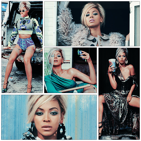 12/06/2011 - Beyonce pose pour le magazine Dazed and Confused !!!