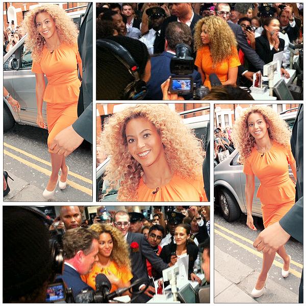 27/06/2011 - Sortie de Beyonce dans Londres + concert ... quel chance !!!