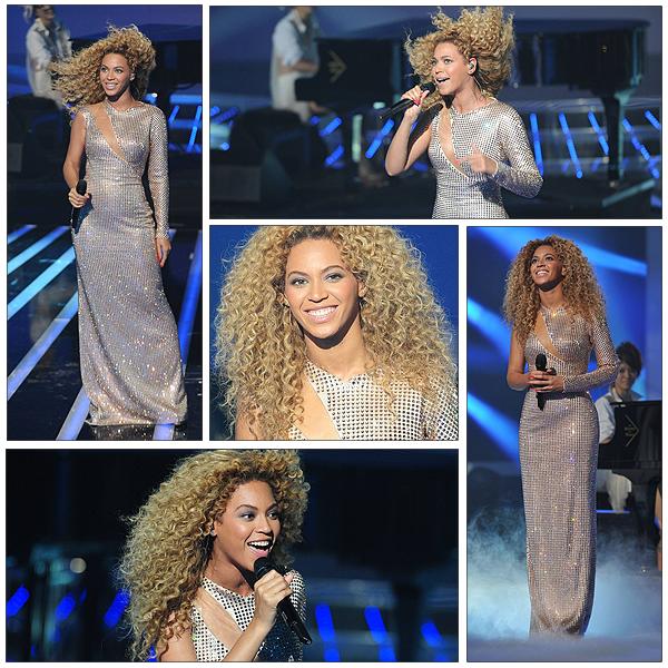 28/06/2011 - Beyonce notre grande diva en live sur X-FACTOR !!! SHOW EXCEPTIONNEL !!!! La eblle Beyonce nous a tout d' abord interprétée son titre Best thing i never had et ensuite son fameux tube Run the world qui a mit une ambiance de folie sur le plateau de M6 ....