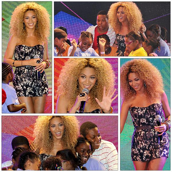 30/06/2011 - Beyonce à l' anniversaire de Target à harlem !!!