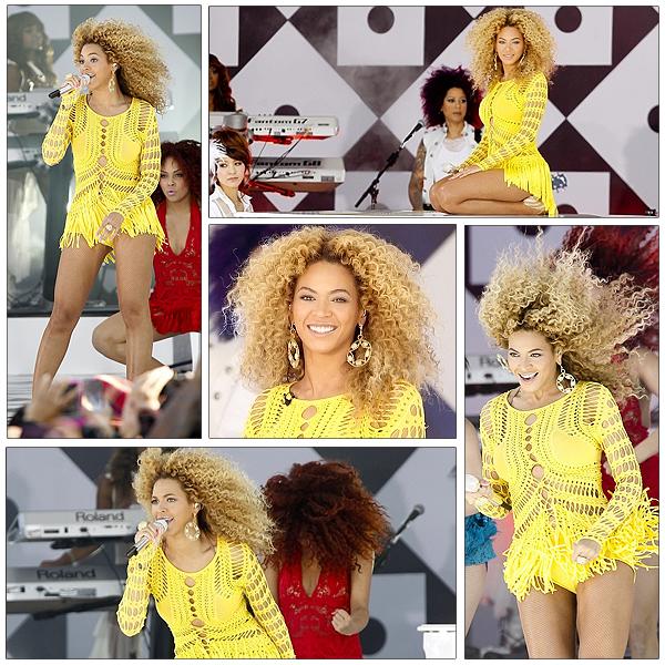 01/07/2011 - Concert de Beyonce au GOOG MORNING AMERICA !!!