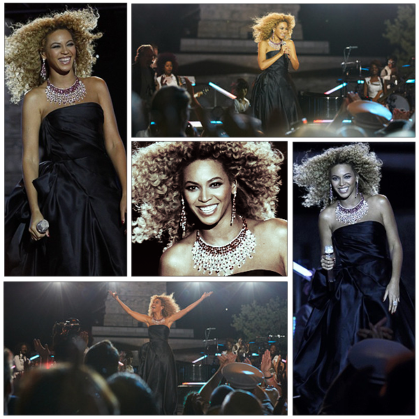 04/07/2011 - Performance de Beyonce sur Best Thing I Never Had et God Bless The USA à l'occasion de la fête nationale américaine !!! Magnifique Prestation et bee est vétue d' une robe qui lui va à ravie ....