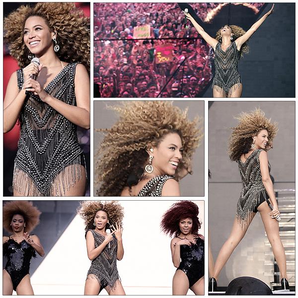 10/07/2011 - Beyonce donne un concert au festival OXYGEN en Ireland !!!