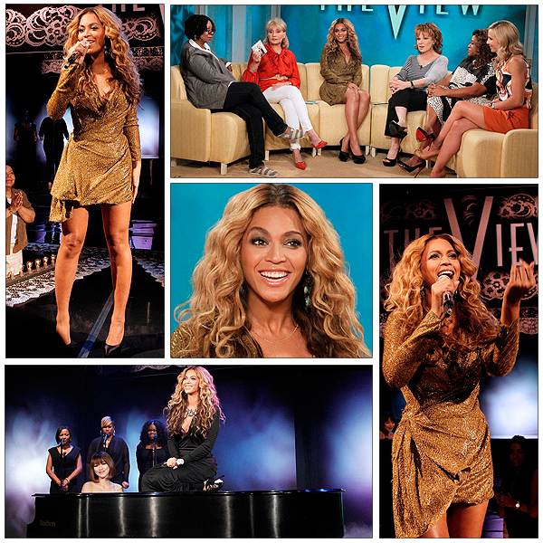 28/07/2011 - Beyonce performe best thing i never had et 1+1 sur la chaine abc sur The View ... Sublime