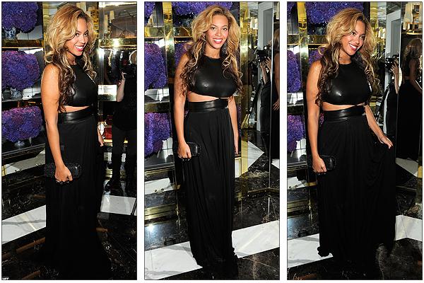 13/09/2011 - Beyonce présente pour l' ouverture d' un magasin Tory Burch !