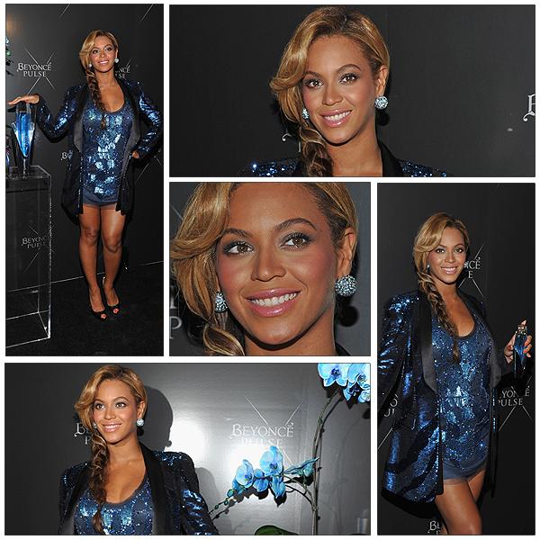 21/09/2011 - Inauguration du nouveau parfum PULSE de Beyonce !!!