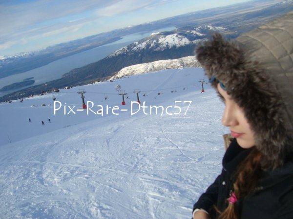 Thelma au ski