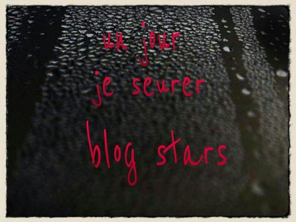 Un jour je serre blog star