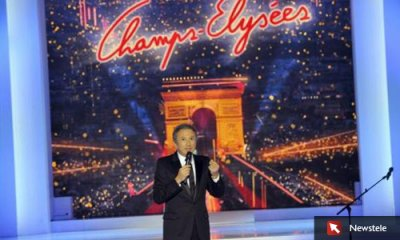 Line Renaud - Champs Elysées le 15 janvier