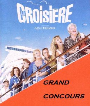 """Line Renaud - Grand Concours: 5 x 2 places de cinéma à gagner pour """"La Croisière""""... la suite"""