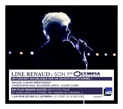 "Line Renaud - Visuel Définitif ""Un soir de Mai à l'Olympia"""