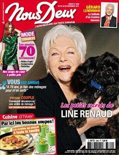 """Line Renaud - Itw dans """"Nous Deux"""" du 22-11-11"""