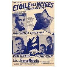 """Line Renaud - """"Etoile des Neiges"""" l'histoire d'une chanson"""