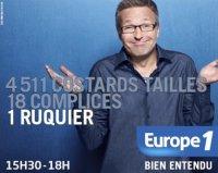 """Line Renaud - Invitée d'honneur """"On va s'gêner"""" Europe1 10-01-2012"""