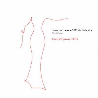 Line Renaud - 26 janvier 2012: 10ème Dîner de la Mode Sidaction
