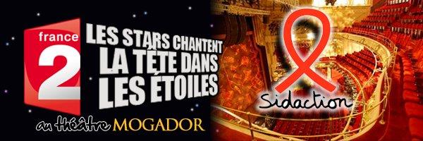 Line Renaud - Enregistrement du prime Sidaction 2012 le lundi 26 mars au Théâtre Mogador