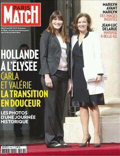 Line Renaud - Au sommaire du Paris Match du 16 mai 2012