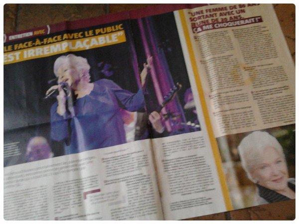Line Renaud - Interview dans le TéléDH du 15-12-2012