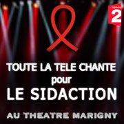 """Line Renaud - Sidaction 2013: """"Toute la télé chante pour le Sidaction"""" enregistré ce jour"""