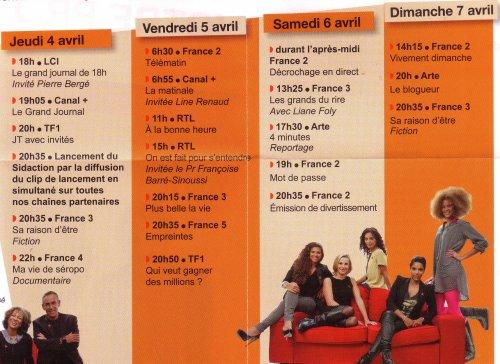 Line RENAUD - Programme SIDACTION 2013