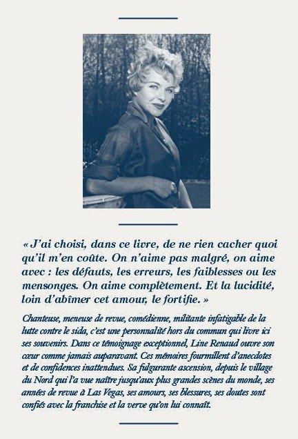 """Line Renaud - """"Et mes secrets aussi..."""" J-24"""