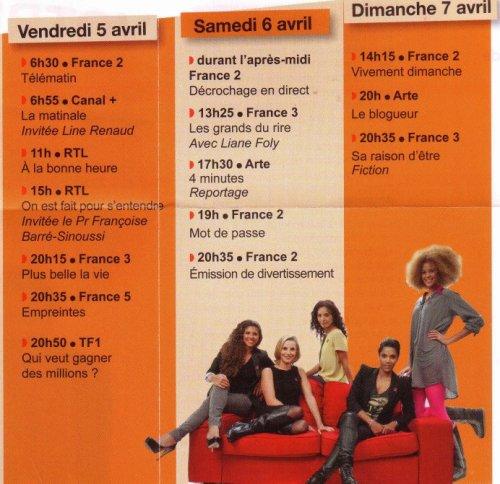 Line Renaud - Tous mobilisé pour le Sidaction 2013