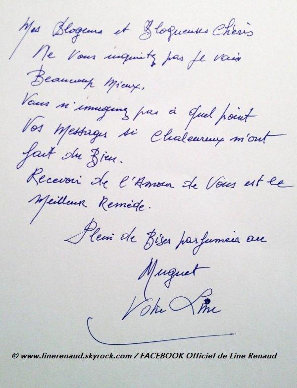 Line RENAUD - Bon 1er Mai!
