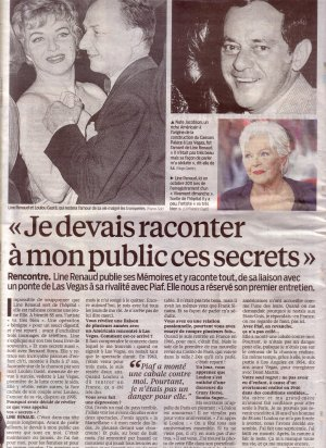 Line RENAUD - Dans la Presse...