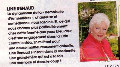 Line RENAUD - Grand-mère idéale !