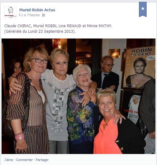 """Line Renaud - A la générale de """"Robin Revient""""!"""
