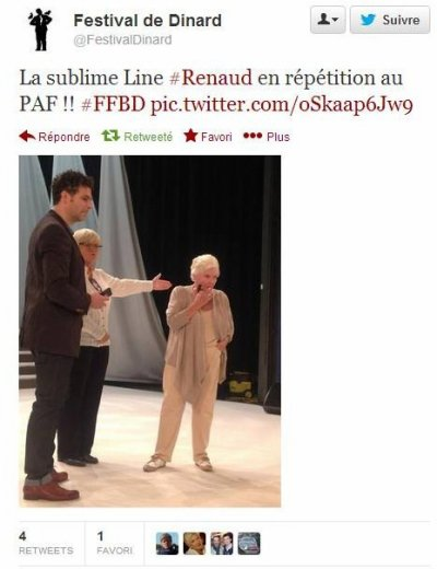 Line RENAUD - Revue de tweets.... (MAJ 04/10/13 19h)