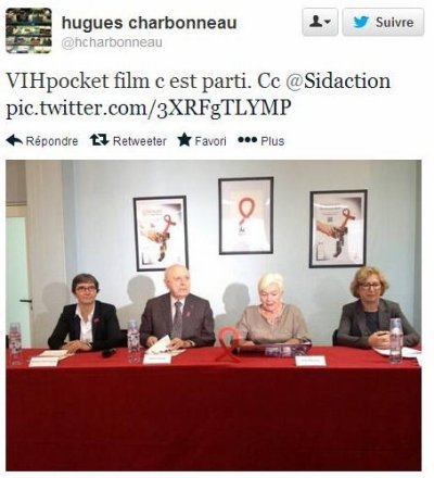 Line RENAUD - Lancement du Vihpocketfilm
