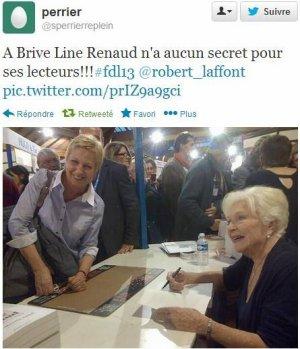 Line Renaud - Photos de la dédicace du 9 novembre