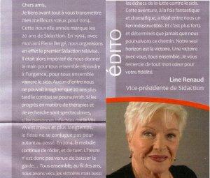 """Line Renaud - Edito n° 68 """"Ensemble"""""""